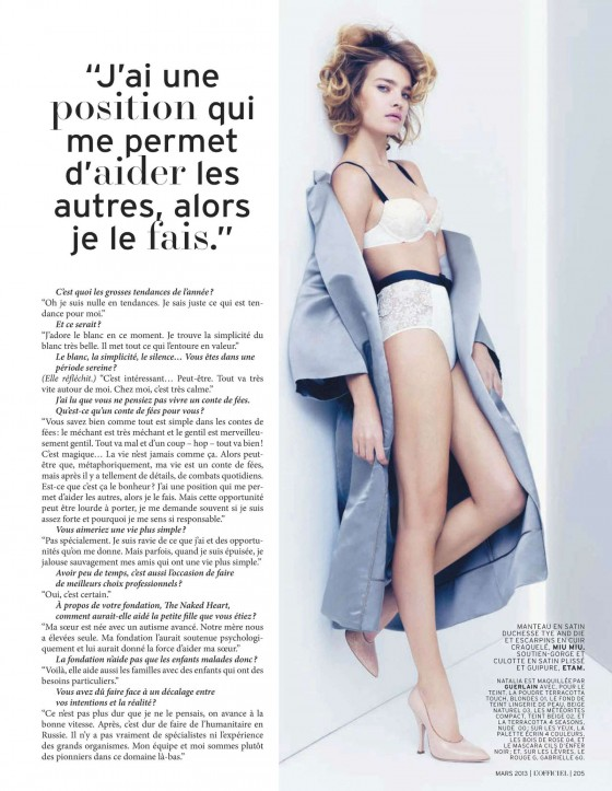 Natalia Vodianova – LOfficiel Magazine – March 2013 -08