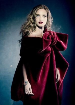 Natalia Vodianova - Vogue Russia (December 2014)