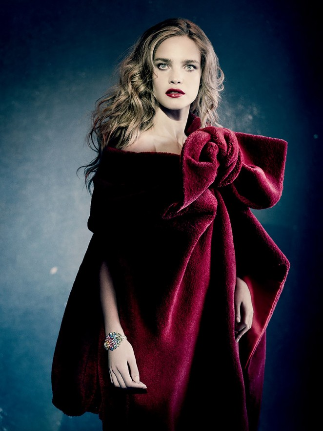 Natalia Vodianova - Vogue Russia (December 2014)