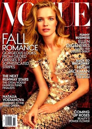 Natalia Vodianova - Vogue US Magazine Cover (November 2014)