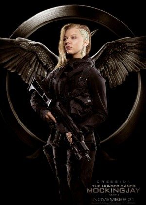 "Natalie Dormer - Cressida for ""The Hunger Games: Mockingjay Part 1"" Poster"