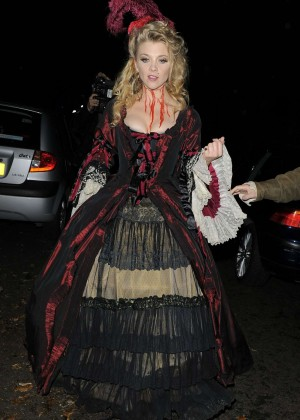 Natalie Dormer - Jonathan Ross Halloween Party in London