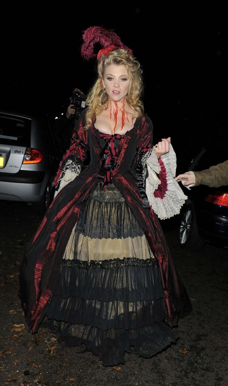 Natalie Dormer - Jonathan Ross Halloween Party in London