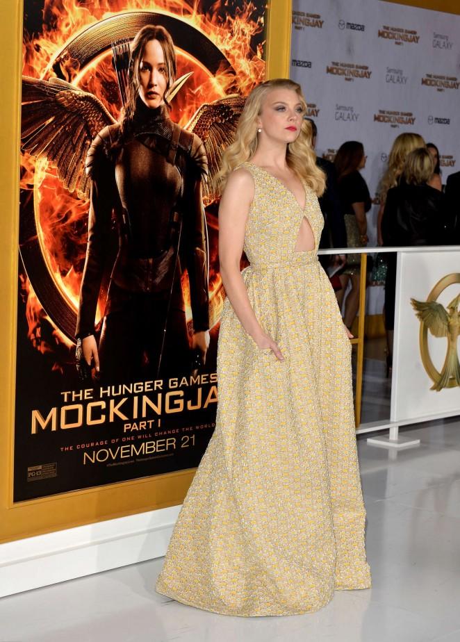 Natalie Dormer - The Hunger Games: Mockingjay - Part 1 LA ...