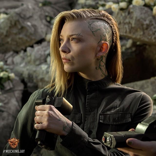 """Natalie Dormer – """"The Hunger Games: Mockingjay"""" Promo Pics"""
