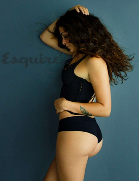 Natalie Martinez shows her hot body in photoshoot for Esquire Magazine