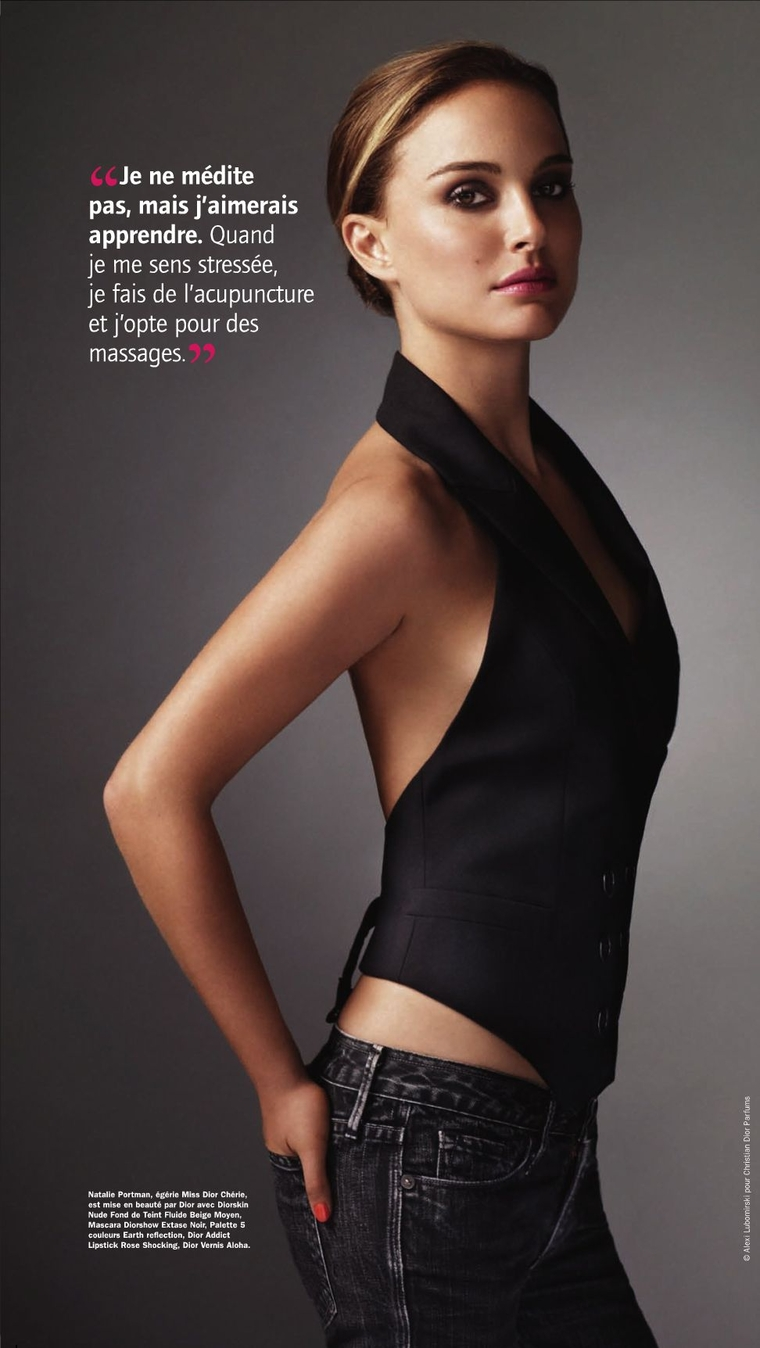 Back To Post Natalie Portman La Parisienne Magazine March