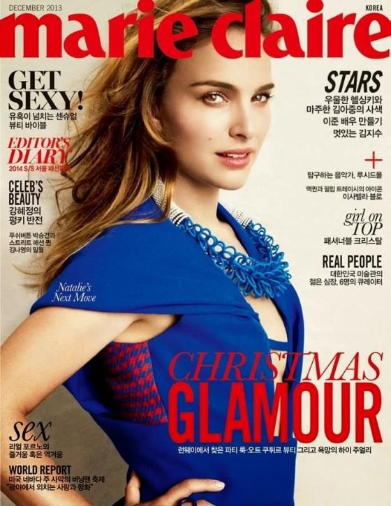 Natalie Portman – Marie Claire Korea Cover (December 2013)