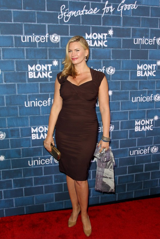 Natasha Henstridge at Montblanc and Unicef Pre Oscar Charity Brunch -01