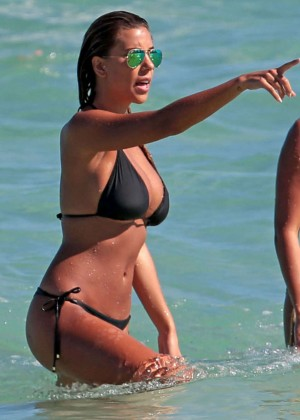 Natasha Oakley and Devin Brugman Bikini Photos: 2014 in Miami -03