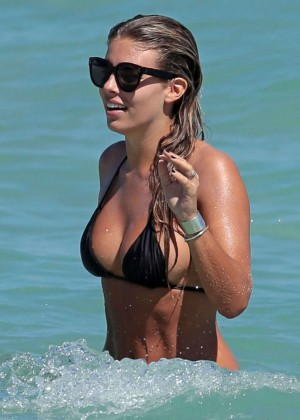 Natasha Oakley and Devin Brugman Bikini Photos: 2014 in Miami -13