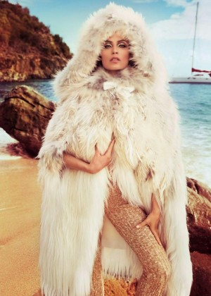 Natasha Poly - Vogue Paris Magazine (November 2014)