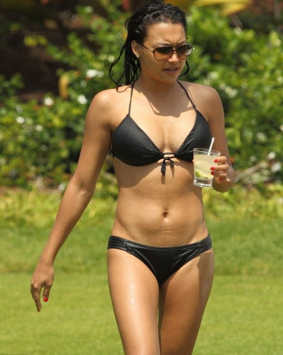 Naya Rivera - Bikini at the beach in Hawaii