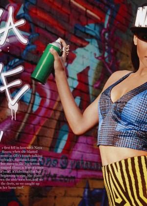 Naya Rivera: Cosmopolitan Latinas -01