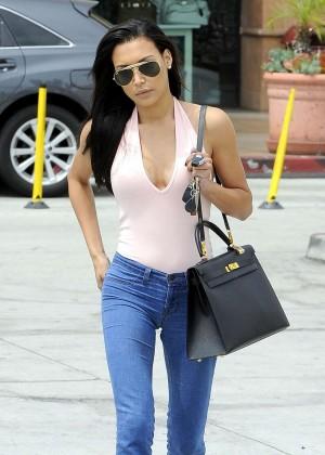 Naya Rivera in jeans -03