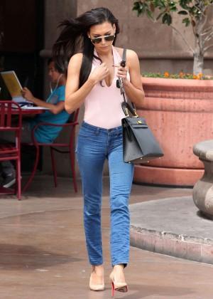 Naya Rivera in jeans -05