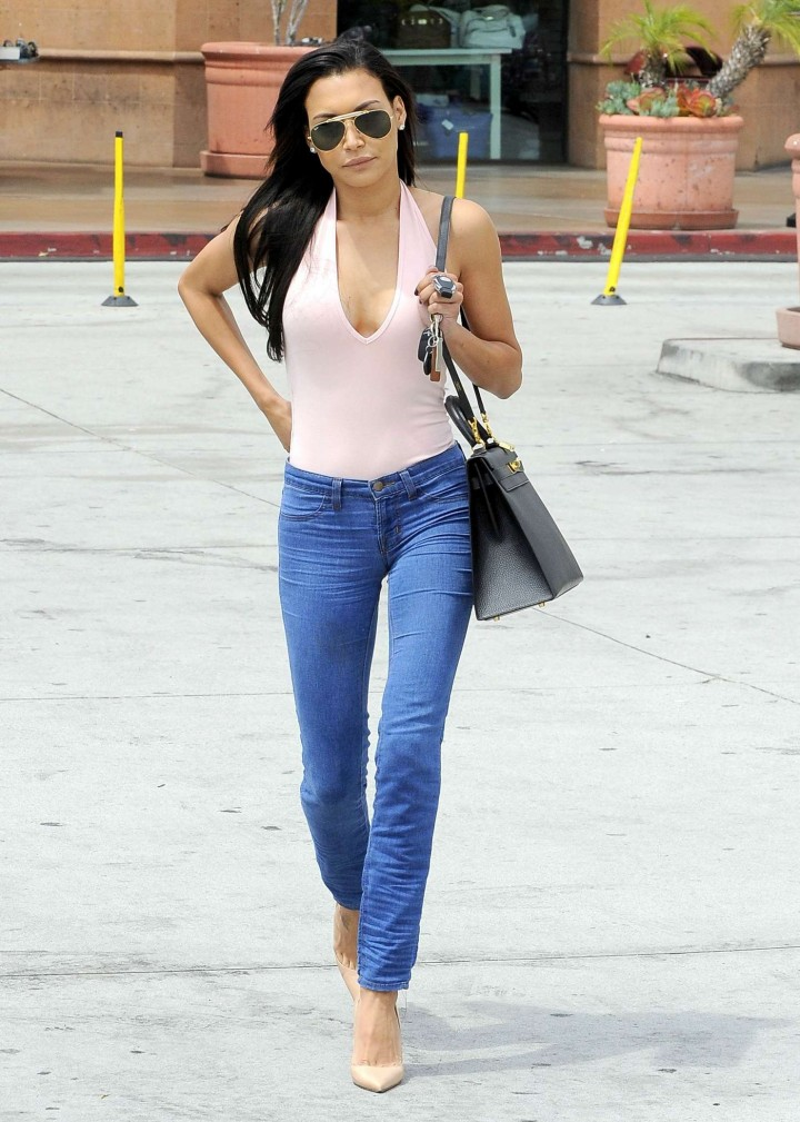 Naya Rivera 2014 : Naya Rivera in jeans -13