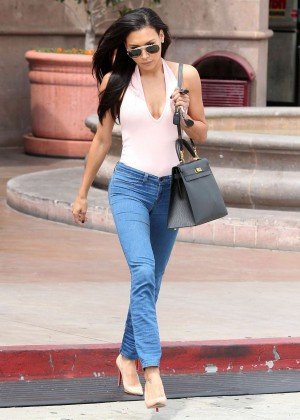 Naya Rivera in jeans -29
