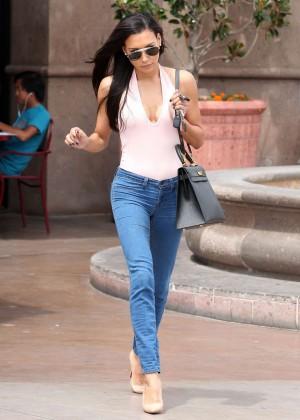 Naya Rivera in jeans -31