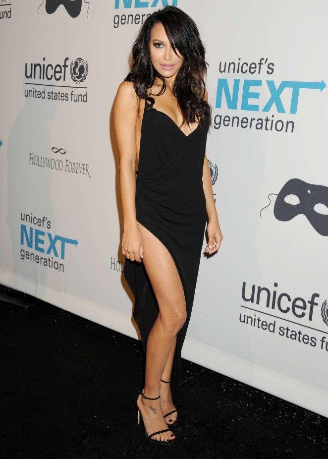 Naya Rivera - UNICEF's Next Generation's 2nd Annual Masquerade Ball in LA