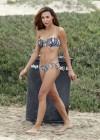 Naya Rivera bikini pictures: at a beach in Malibu -03