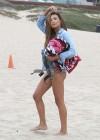 Naya Rivera bikini pictures: at a beach in Malibu -07