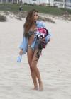 Naya Rivera bikini pictures: at a beach in Malibu -09