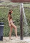 Naya Rivera bikini pictures: at a beach in Malibu -14