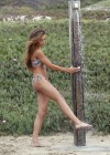 Naya Rivera bikini pictures: at a beach in Malibu -16