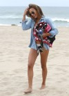Naya Rivera bikini pictures: at a beach in Malibu -21