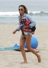 Naya Rivera bikini pictures: at a beach in Malibu -24