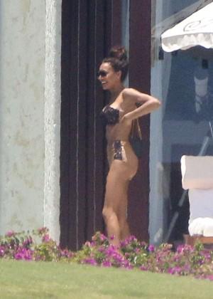 Naya Rivera bikini in Cabo -11
