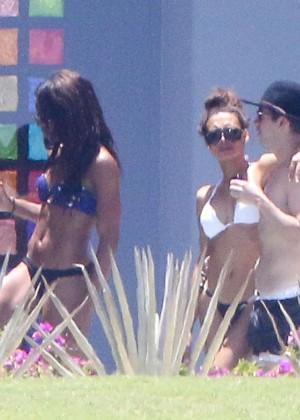 Naya Rivera bikini in Cabo -13