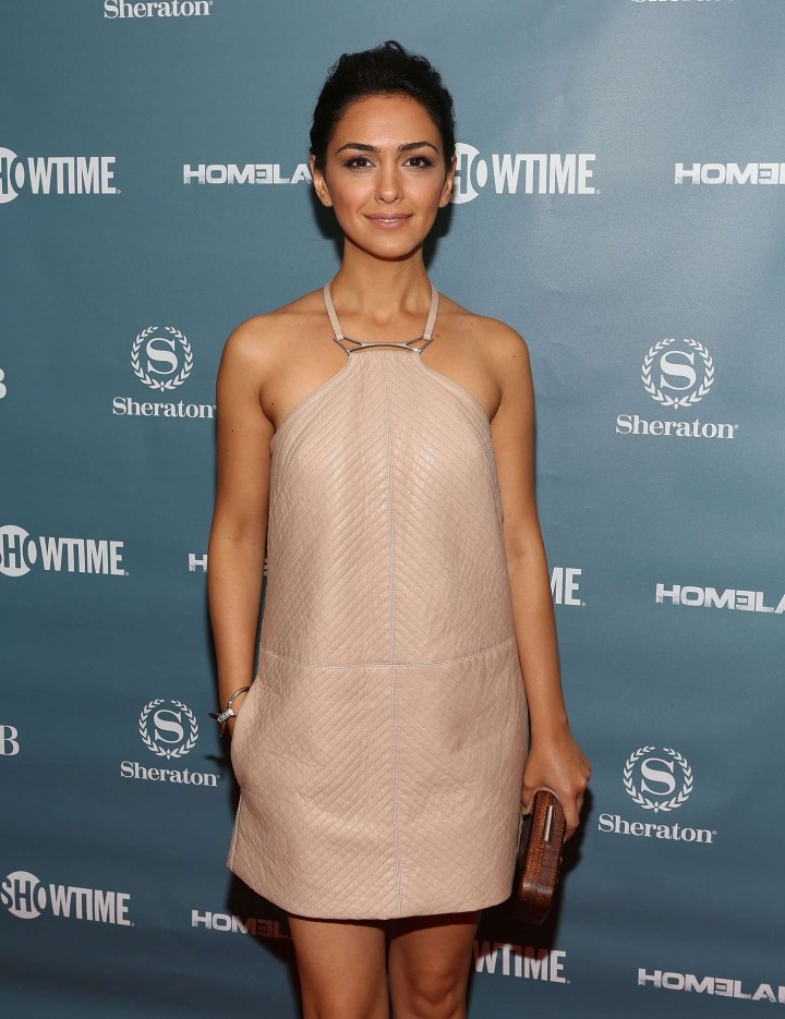 "Nazanin Boniadi - Showtime Presents ""Spies Among Us"" in NYC"