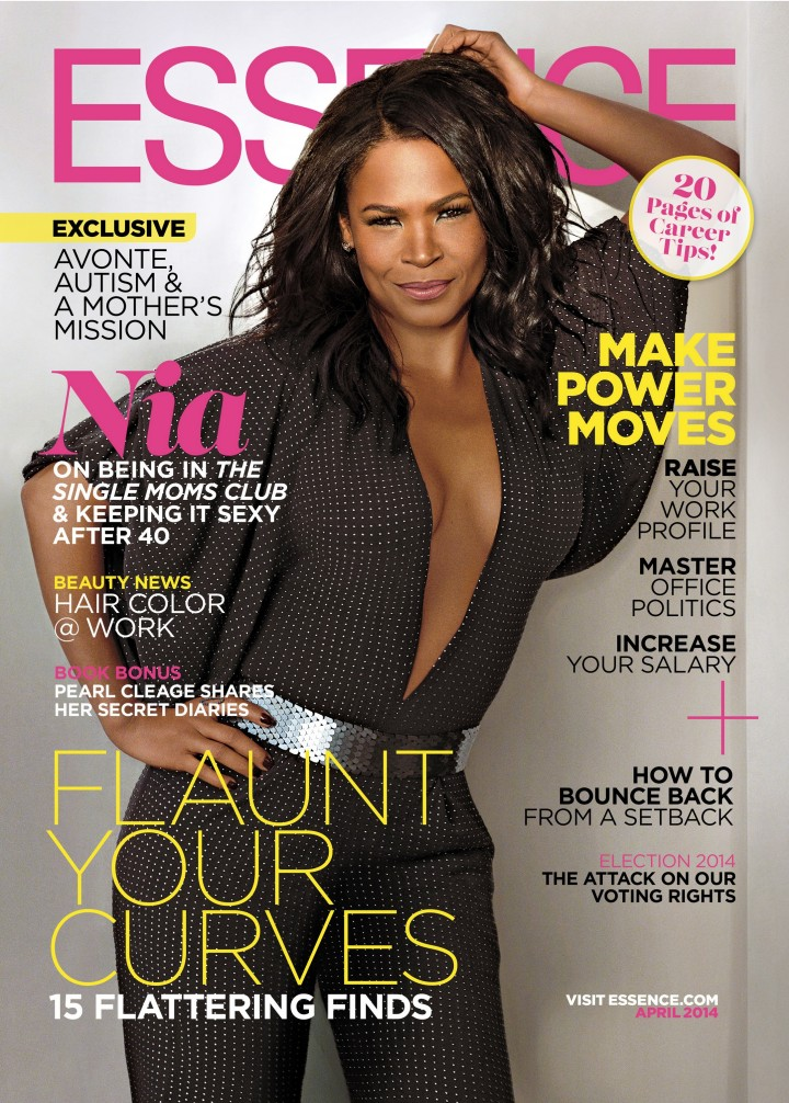 Nia Long: Essence Cover -01