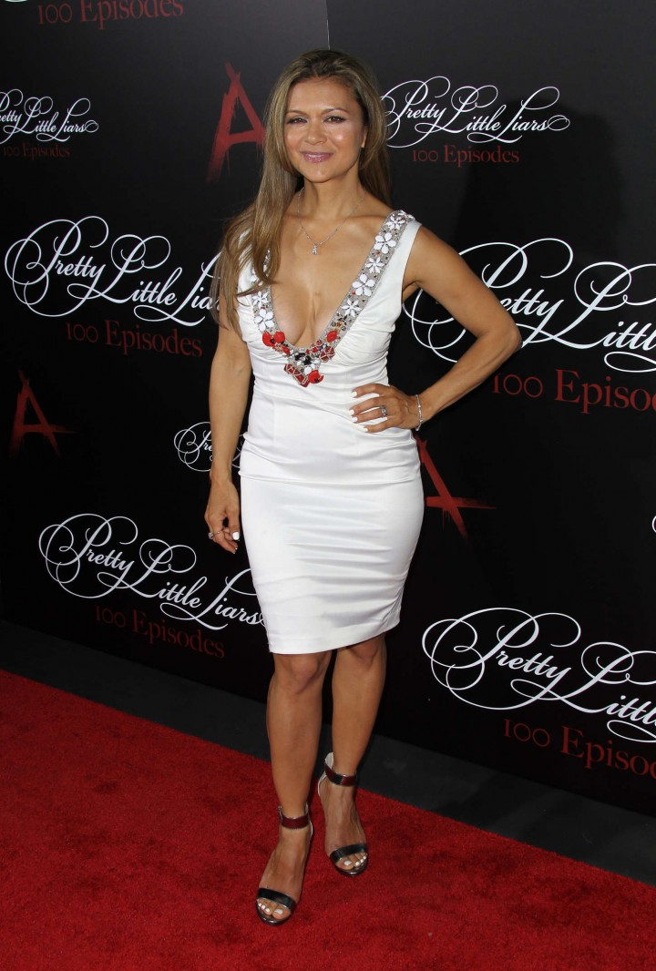 "Nia Peeples – ""Pretty Little Liars"" 100th episode celebration in Hollywood"
