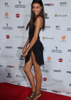 Nickayla Rivera - 2014 International Academy Of Television Arts & Sciences Emmy Awards in NYC