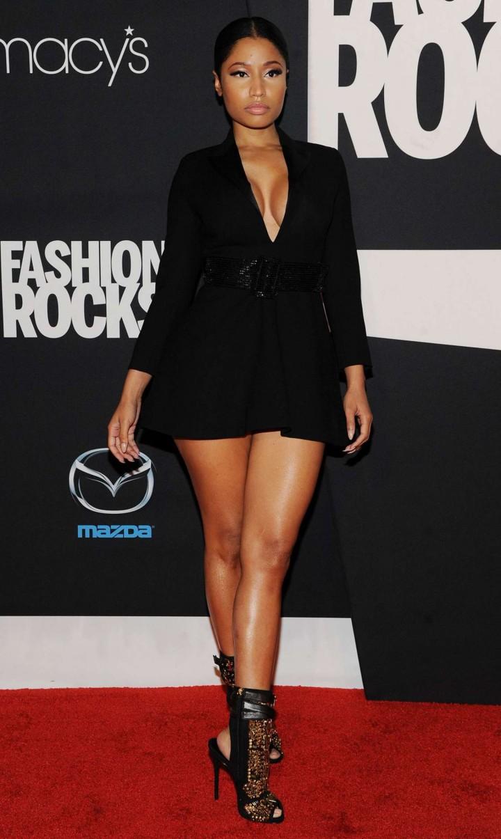Nicki Minaj: Red Carpet at 2014 Fashion Rocks in NY -01 - GotCeleb