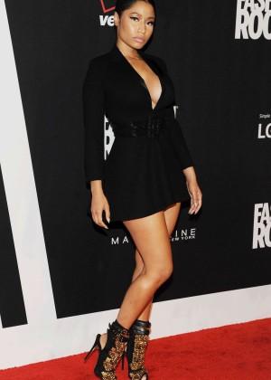 Nicki Minaj: Red Carpet at 2014 Fashion Rocks in NY