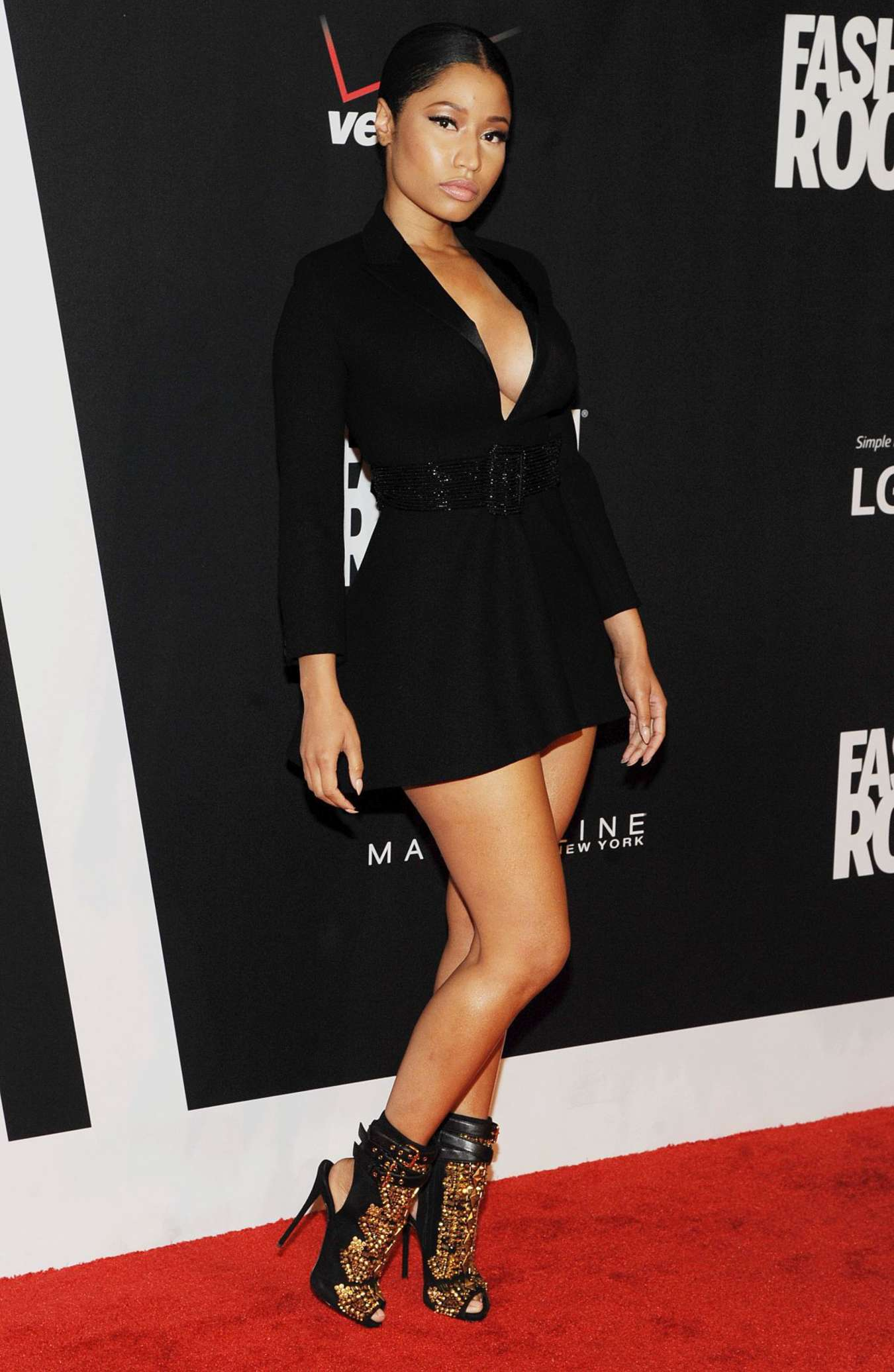 Nicki Minaj Red Carpet At 2014 Fashion Rocks In Ny 12 Gotceleb