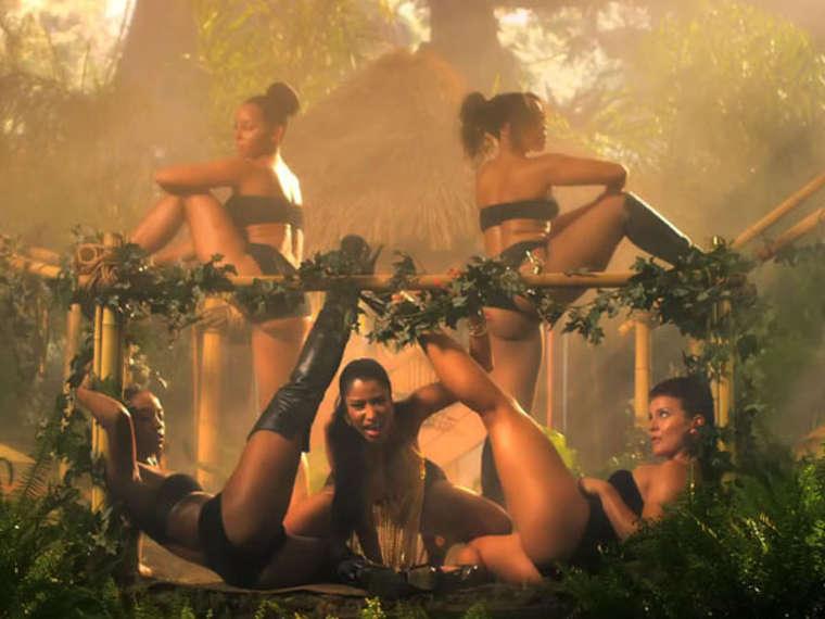 Nicki Minaj Anaconda Music Video And Screencaps 14 GotCeleb