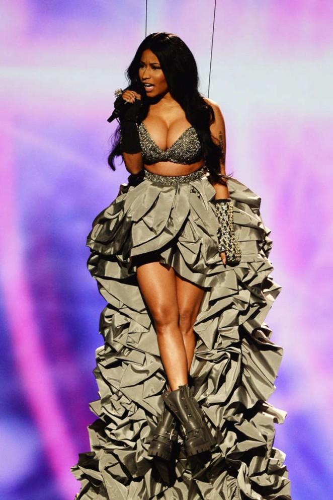 Nicki Minaj - 2014 MTV Europe Music Awards 2014 in Glasgow