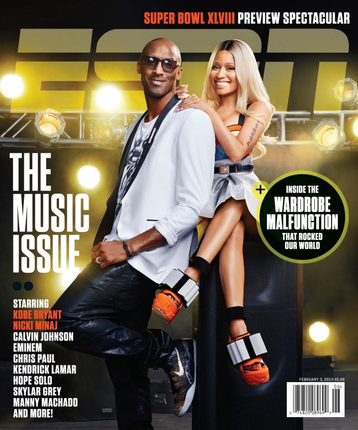 Nicki Minaj – ESPN The Magazine (February 2014 Cover)
