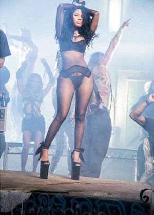 "Nicki Minaj - Filming her new music video ""Only"""