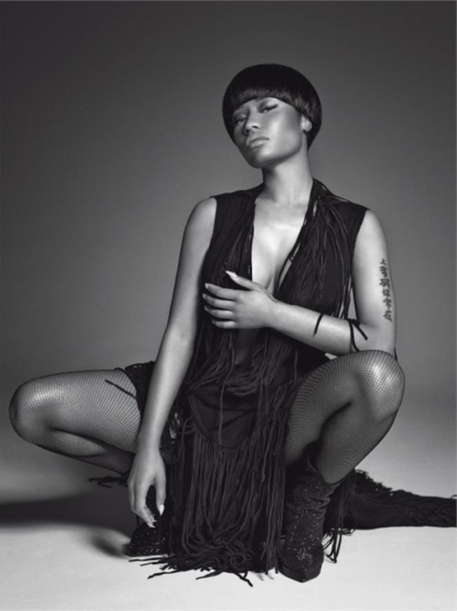 Nicki Minaj - L'Uomo Vogue Magazine (October 2014)