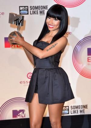 Nicki Minaj at 2014 MTV Europe Music Awards 2014 in Glasgow