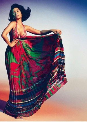 Nicki Minaj - The Face Of The New Roberto Cavalli Campaign