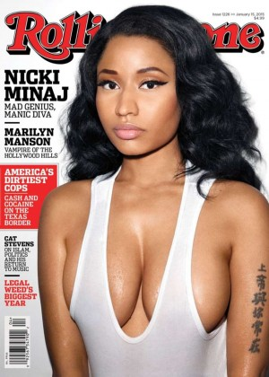 Nicki Minaj - Rolling Stone Cover Magazine (January 2015)