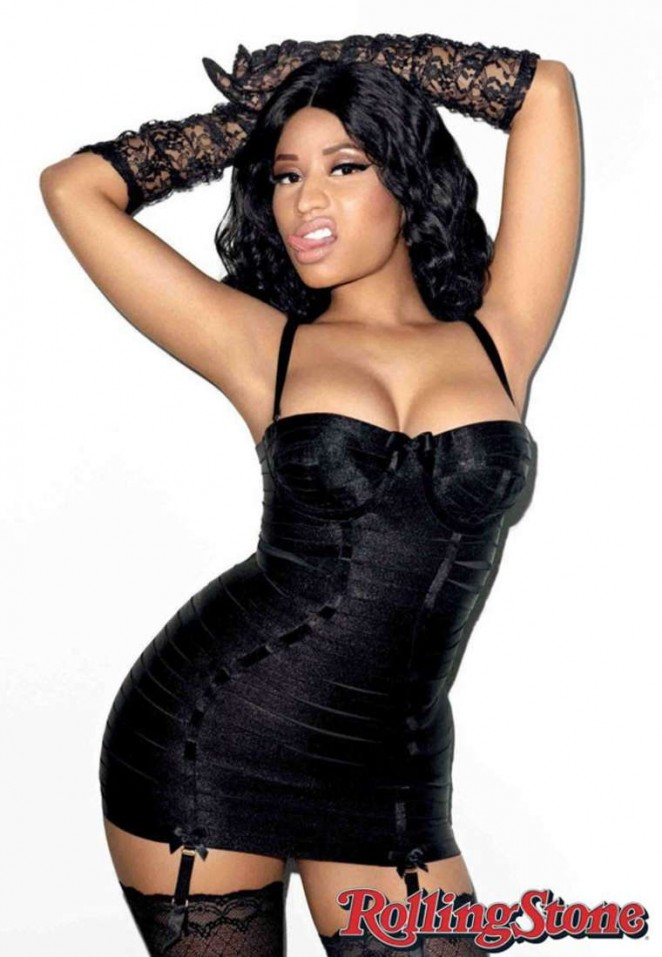 Nicki Minaj - Rolling Stone Magazine (January 2015)