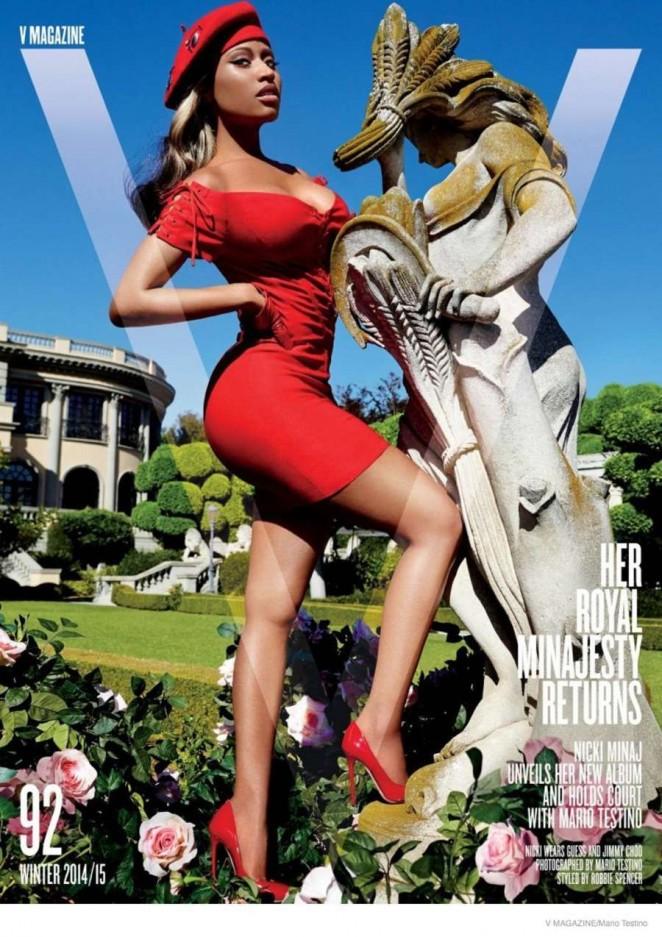 Nicki Minaj – V Magazine Photoshoot